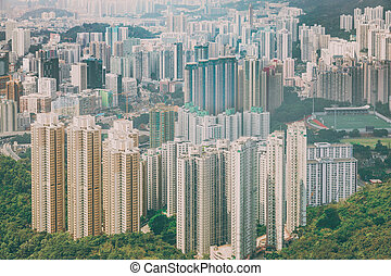 residential area in Hong Kong