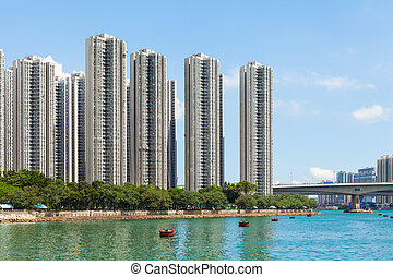 Residential area in Hong Kong