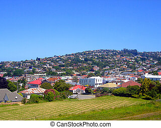Residential Area in New Zealand