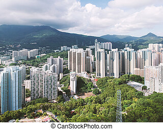 Residential area of Hong Kong West