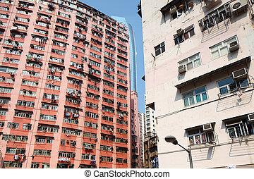 Residential building in Hong Kong
