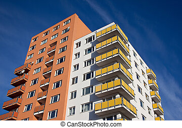 New multistorey residential building
