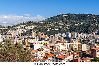 Residential buildings in Nice - France
