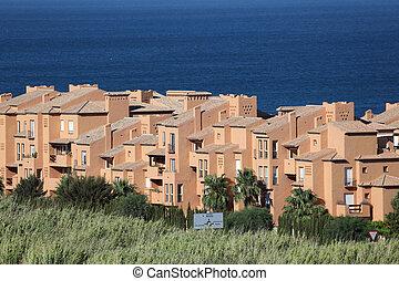Residential buildings in southern Spain