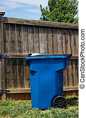 Residential City Trash Can