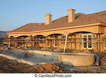 Residential Construction Site