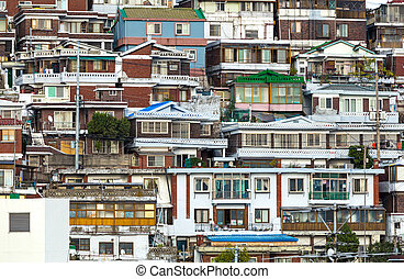 Residential district in Seoul