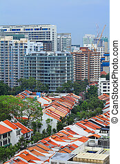 residential downtown in Singapore