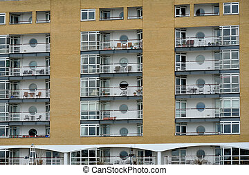Residential flats with Balcony