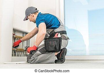 Residential Floor Heating