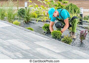 Residential Garden Developing