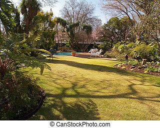 Residential Garden.