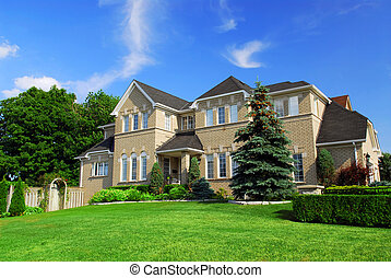 Residential home - Large upscale residential home with ...