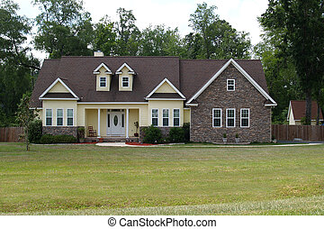 Residential Home - One story residential home with both ...