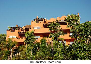 Residential house in Mediterranean resort in Spain