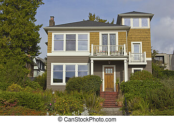 Residential house Seattle WA.