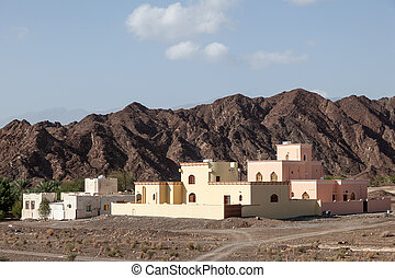 Residential houses in Oman