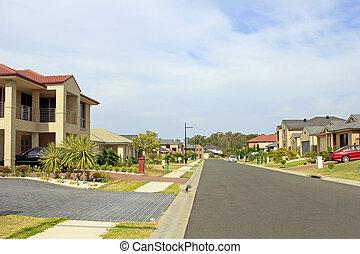 Residential Street Block