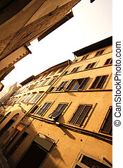 Residential Street in Florence