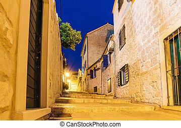 Residential Street in Split