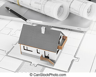 Residential structure - Blueprints and house structure