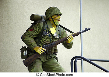 Soldier - Resin Based Model of a Soldier