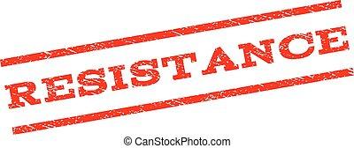Resistance Watermark Stamp