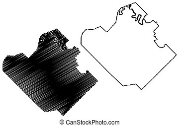 Resistencia City (Argentine Republic, Chaco Province) map ...