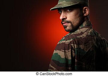 resistente, soldado