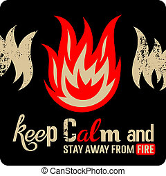 resistenza al fuoco, segno