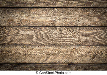 resistido, e, rústico, celeiro, madeira, fundo