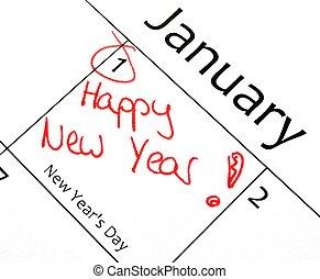resolución año nuevo