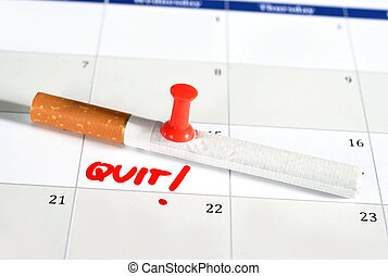 Resolution quit smoking on Calendar - Calendar Resolution...