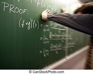 resolver problema, frustrado, estudante