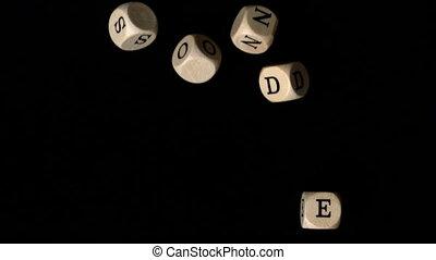 Resonder dice falling together