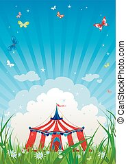 resor, cirkus
