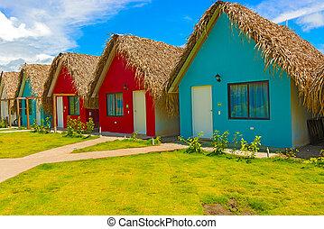 Resort at the Pacific Ocean in Panama - Picturesque resort...
