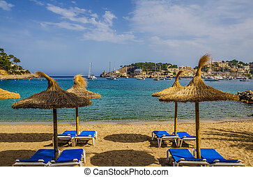 Resort beach, Port de Soller, Mallorca