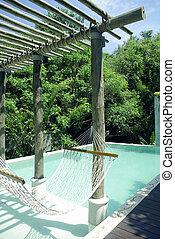 Resort beautiful pool