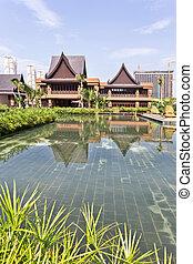 resort building exterior