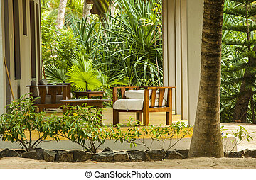 Resort bungalow near the beach - Bungalow in tropical resort...