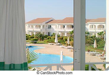 Resort hotel room