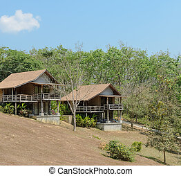 Resort house on the mountain