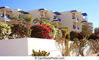 Resort Hotel on the Red Sea at Sharm El-Sheikh, Egypt