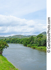 resort is adjacent rivers and forests. High mountains and ...