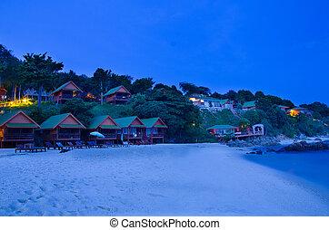 Resort on island in Thailand