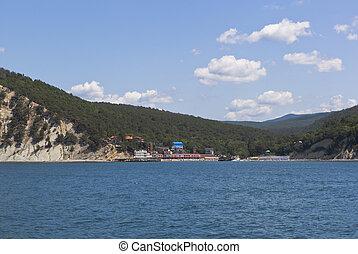 Resort settlement Dzhanhot in Gelendzhik district Krasnodar region