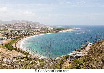 Resorts Along Bay in St Kitts