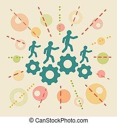 Resources. Concept business illustration