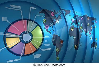 resources., plano de fondo, negocio del mundo